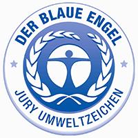 Logo de l'écolabel allemand l'Ange Bleu