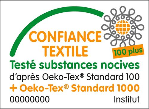 Logo du label OEKO-TEX